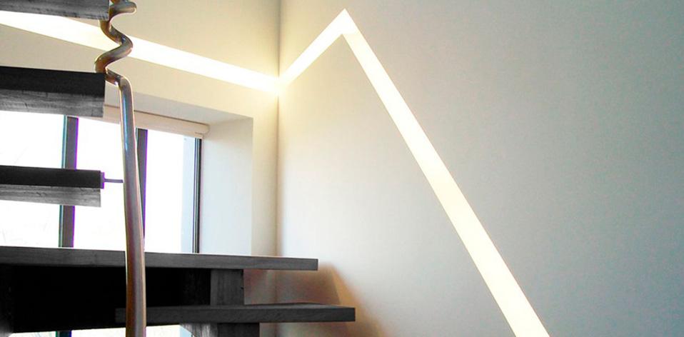 eclairage escalier interieur. Black Bedroom Furniture Sets. Home Design Ideas