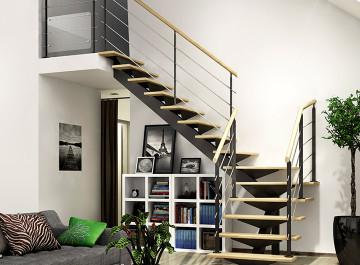 Escaliers et garde corps