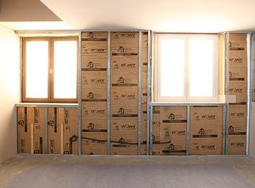 isolation et pl trerie avec les mat riaux siehr. Black Bedroom Furniture Sets. Home Design Ideas