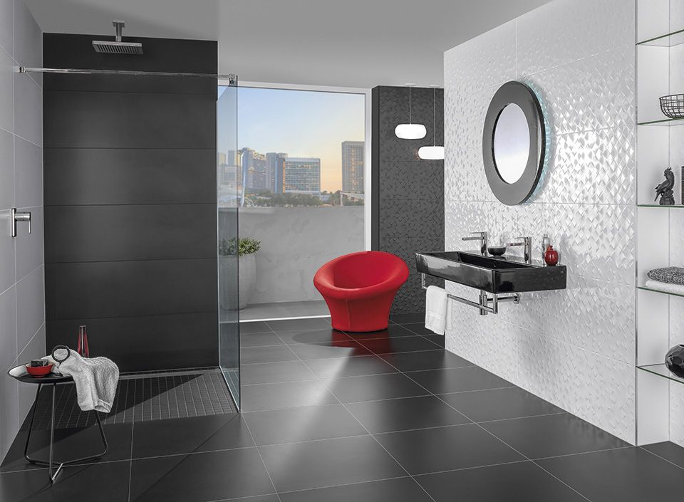 Salle De Bain Villeroy Et Boch.Monochrome Magic