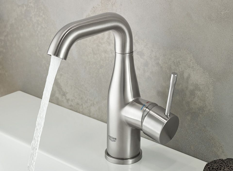 Robinets Lavabos Essence Finition Mat Taille L Grohe Siehr