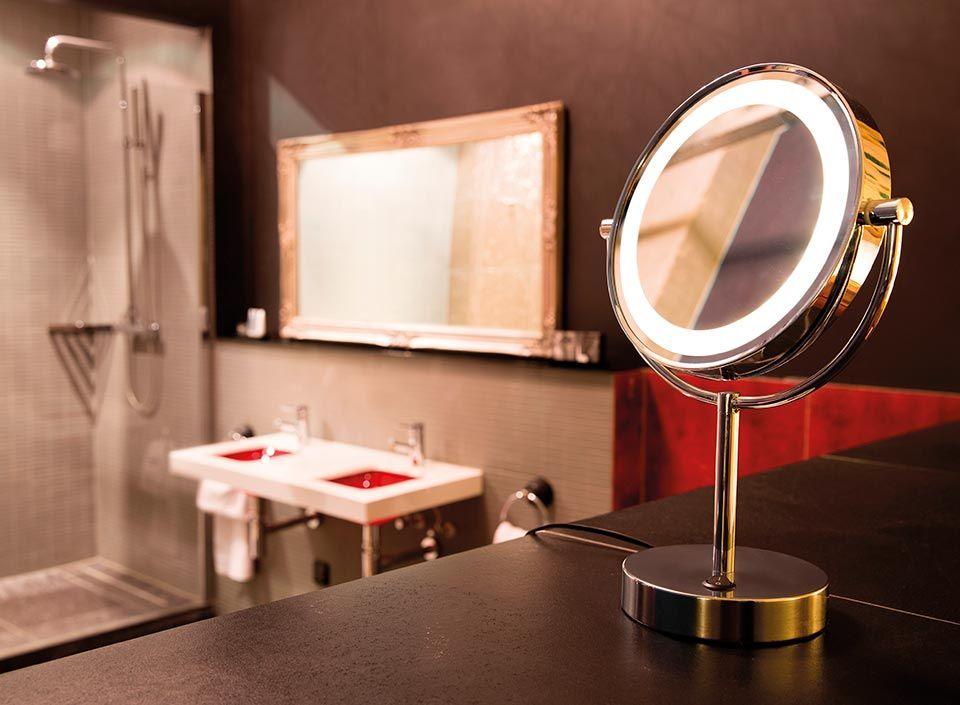 Miroir Lumineux De Salle De Bains Vissardo Par Slv