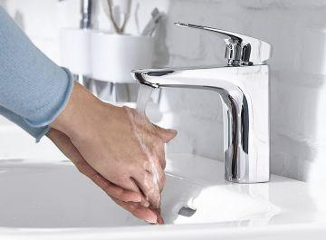 Lavabo - vasque Robinetterie Mitigeur lavabo White 113cm Vigour