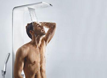 Hydrothérapie Robinetterie Duschpaneel Raindance Lift Hansgrohe