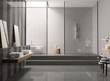 Salle de bains Carrelage Kameko / Akira Pavigres