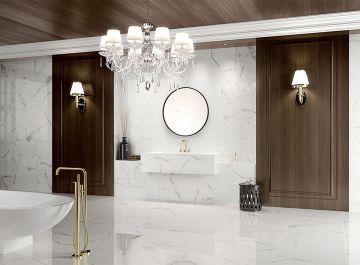 Salle de bains Carrelage Calacata Pavigres