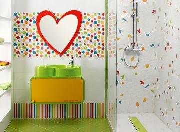 Salle de bains Carrelage Agatha Ruiz Pamesa