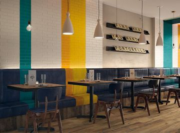 Salle de bains Carrelage Brick Design Emil Ceramica