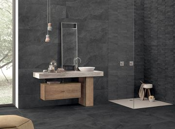 carrelage de salle de bains siehr. Black Bedroom Furniture Sets. Home Design Ideas
