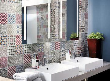Carrelage de salle de bains siehr for Barwolf carrelage