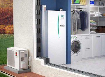 Pompes à chaleur Énergies renouvelables Ecodan hydrobox duo Mitsubishi