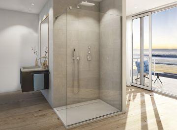 Cabines et parois de douches Salle de bains Walk in easy Sanswiss