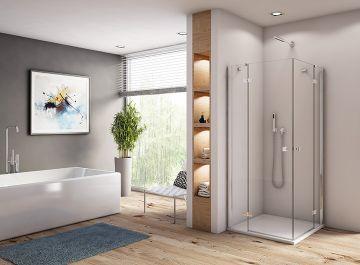 Cabines et parois de douches Salle de bains epura Sanswiss