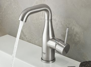 Lavabo - vasque Robinetterie Essence finition mat taille L Grohe