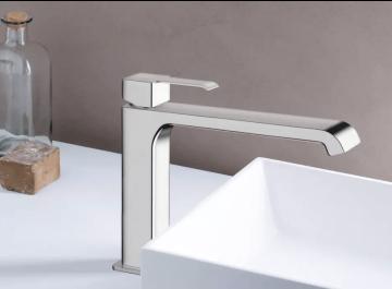 Lavabo - vasque Robinetterie Mitigeur lavabo médium Quadrata Cristina