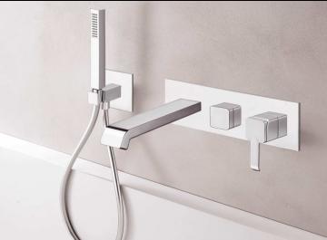 Lavabos / vasques Salle de bains Mitigeur bain/douche Quadrata Cristina
