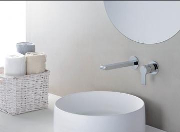 Lavabo - vasque Robinetterie Mitigeur lavabo mural Delta Cristina