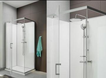 Cabines et parois de douches Salle de bains Cabine de douche Moorea Leda