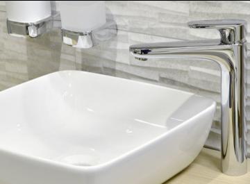 Lavabo - vasque Robinetterie Derby Style - Mitigeur lavabo rehaussé Vigour