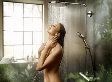 Douche Robinetterie Showerpipe Raindance S240 PowderRain Hansgrohe