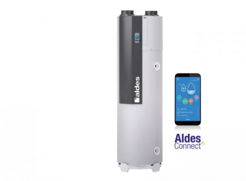 CE thermodynamique Énergies renouvelables T.Flow Hygro+ Connecté Aldès