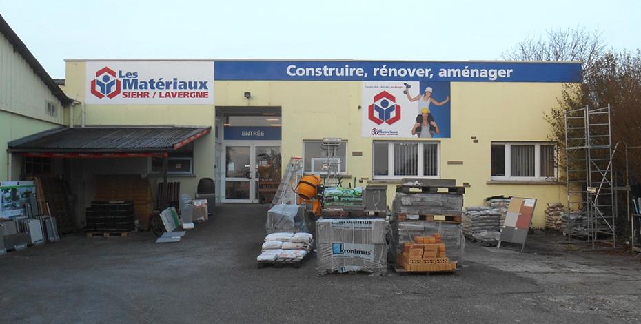 Nouveau dépôt à Ettendorf