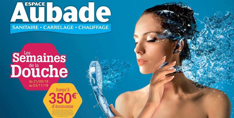 Les Semaines de la Douche chez Espace Aubade | Siehr