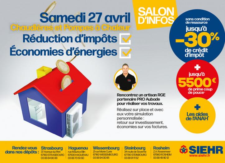 Salon d'infos Chauffage