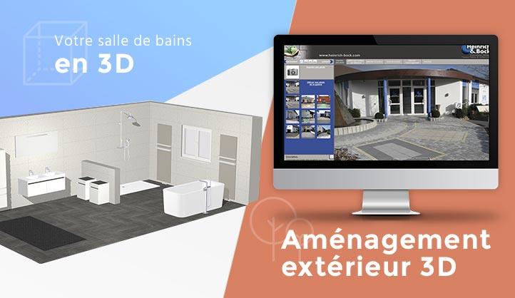 Salle de bains en 3D