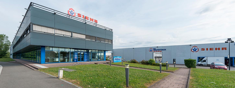Salle d'exposition Siehr Strasbourg
