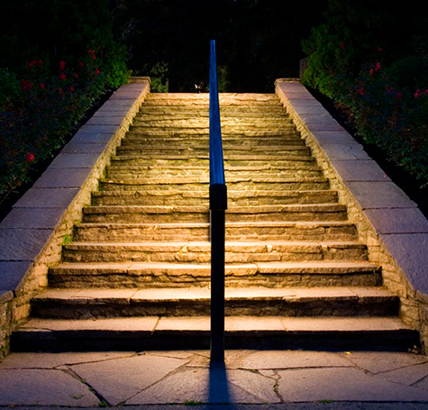 Clairage d 39 ext rieur siehr for Eclairage escalier exterieur
